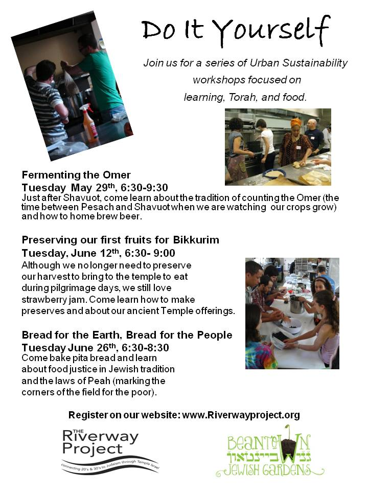 Urban Sustainability Workshops at Riverway Project